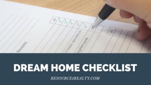 Dream Home Checklist