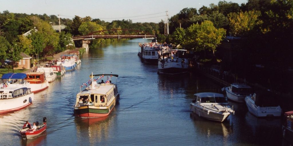 Erie Canal in Fairport NY Perinton NY